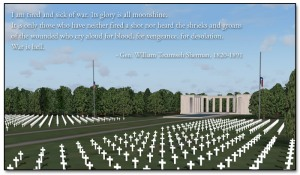 The Normandy American Cemetery - freeware for MAAM-SIM